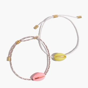 Madewell - friendship bracelet set